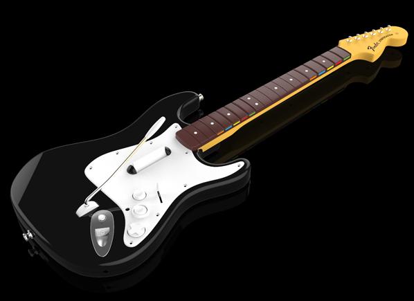 Die neue Gitarre für Rock Band 4 setzt auf das alte Design. Auf Kosten von Neuerungen wird auf die Unterstützung alter Instrumente gesetzt.